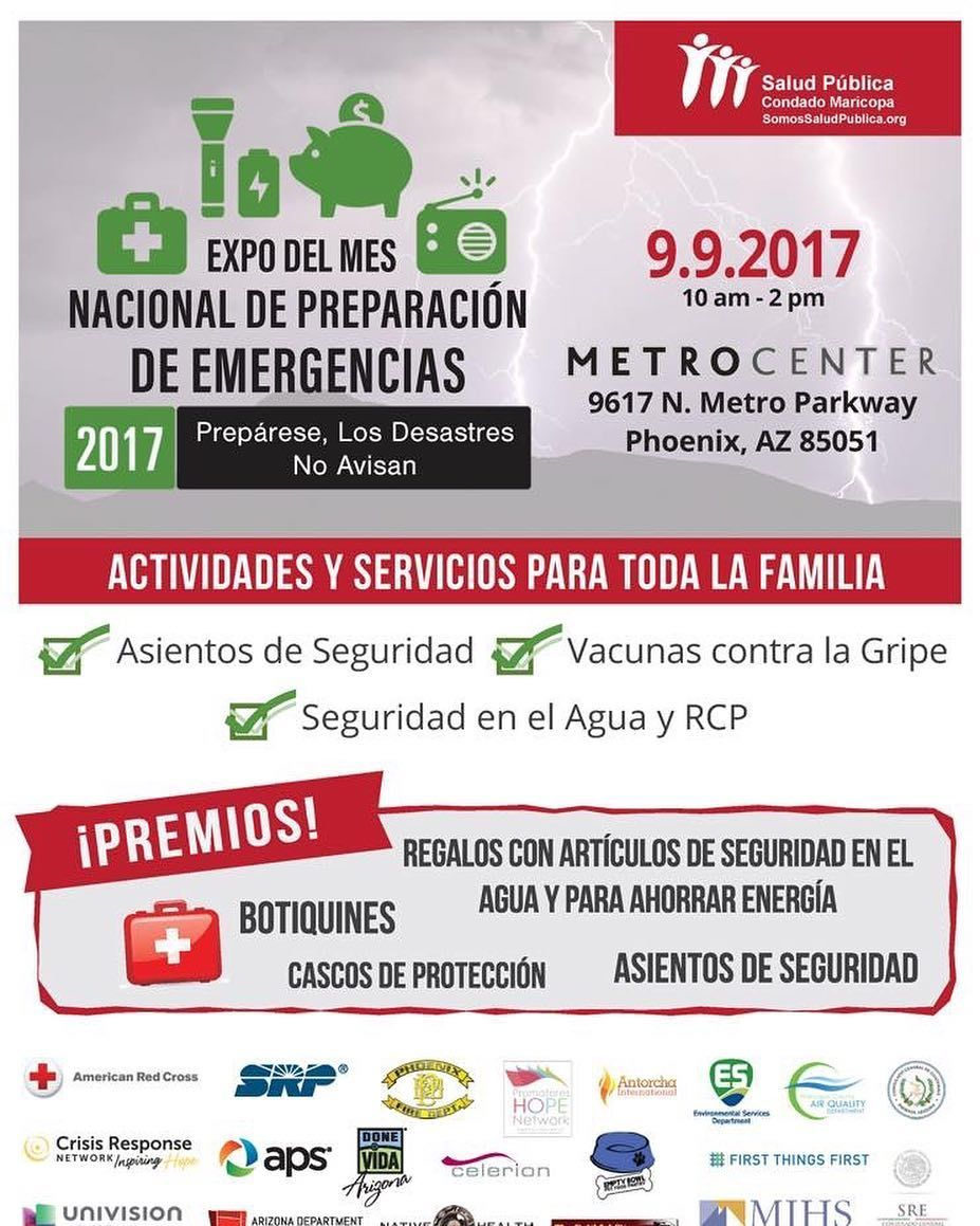 """Ven al """"Expo del Mes Nacional de Preparación de"""