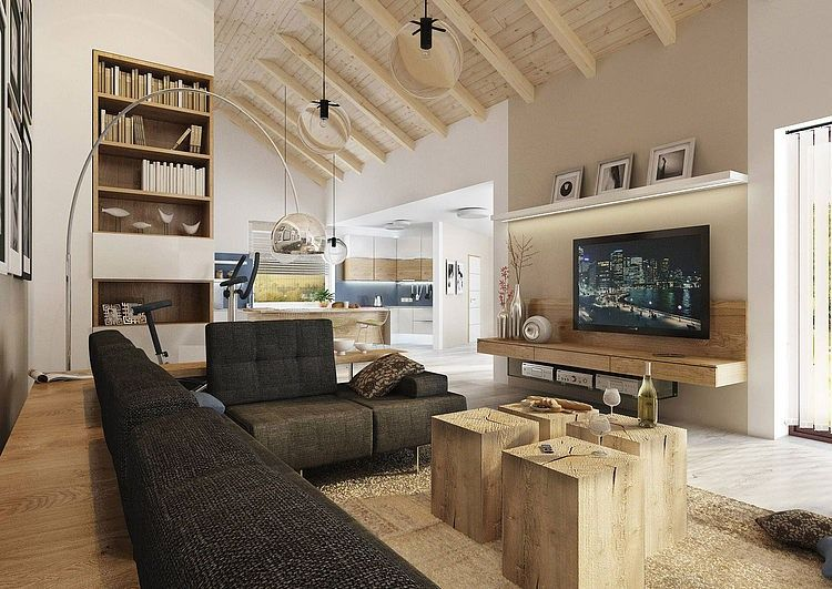 Countryside residence by design aták ideas for the house