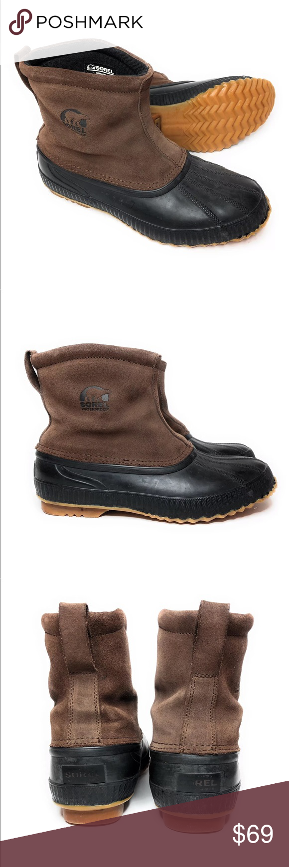 e96cee84289 SOREL Men's Boots 11 ARAPAHO Waterproof Thinsulate Sorel men's ...