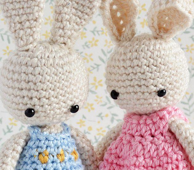 Amigurumi baby bunny pattern | Crochet.Amigurumi | Pinterest ...