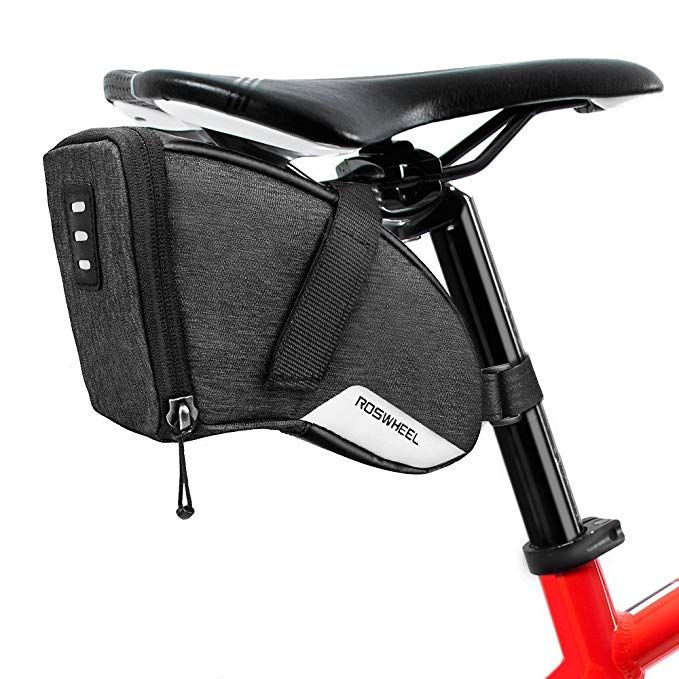 29373e4de46 Number-One 1.5L Bicycle Strap-On Saddle Bag Bike Seat Pack Wedge Pack Under  Seat Bag Cycling Review