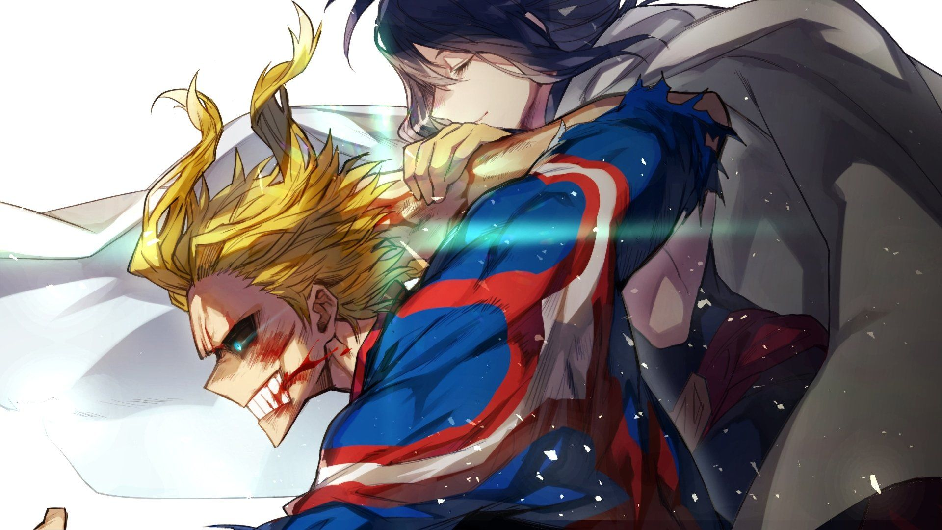 Anime My Hero Academia Nana Shimura All Might Wallpaper ...
