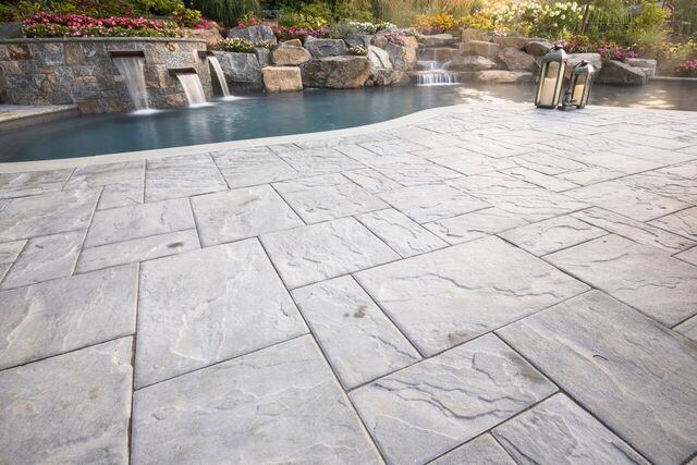 Use Cambridge Pavingstones with ArmorTec for your next outdoor