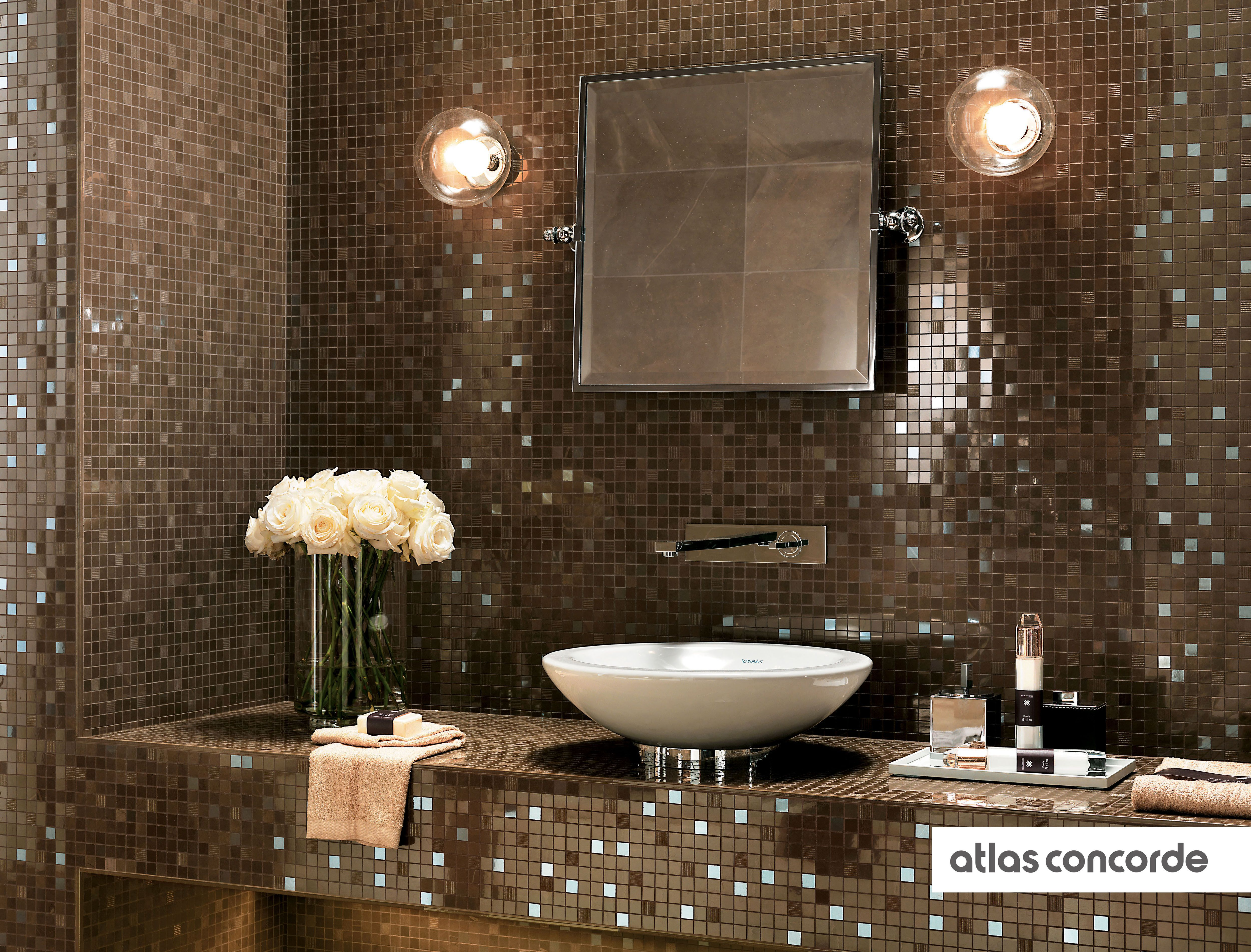 Collections mosaic wall mosaics and concorde marvel bronze mosaic wall design atlasconcorde tiles dailygadgetfo Choice Image