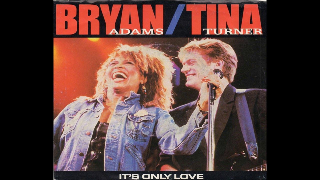 Bryan Adams Tina Turner It S Only Love Cassette Tina Turner Lit Songs