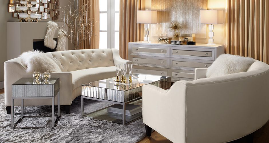 Ho15 Living1 Look On Zgallerie Glamour Living Room Chic Home Decor Home
