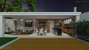 Projeto Mesa Churrasqueira 623 Externas Ediculas Espaco Gourmet