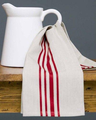 tea towel and jug