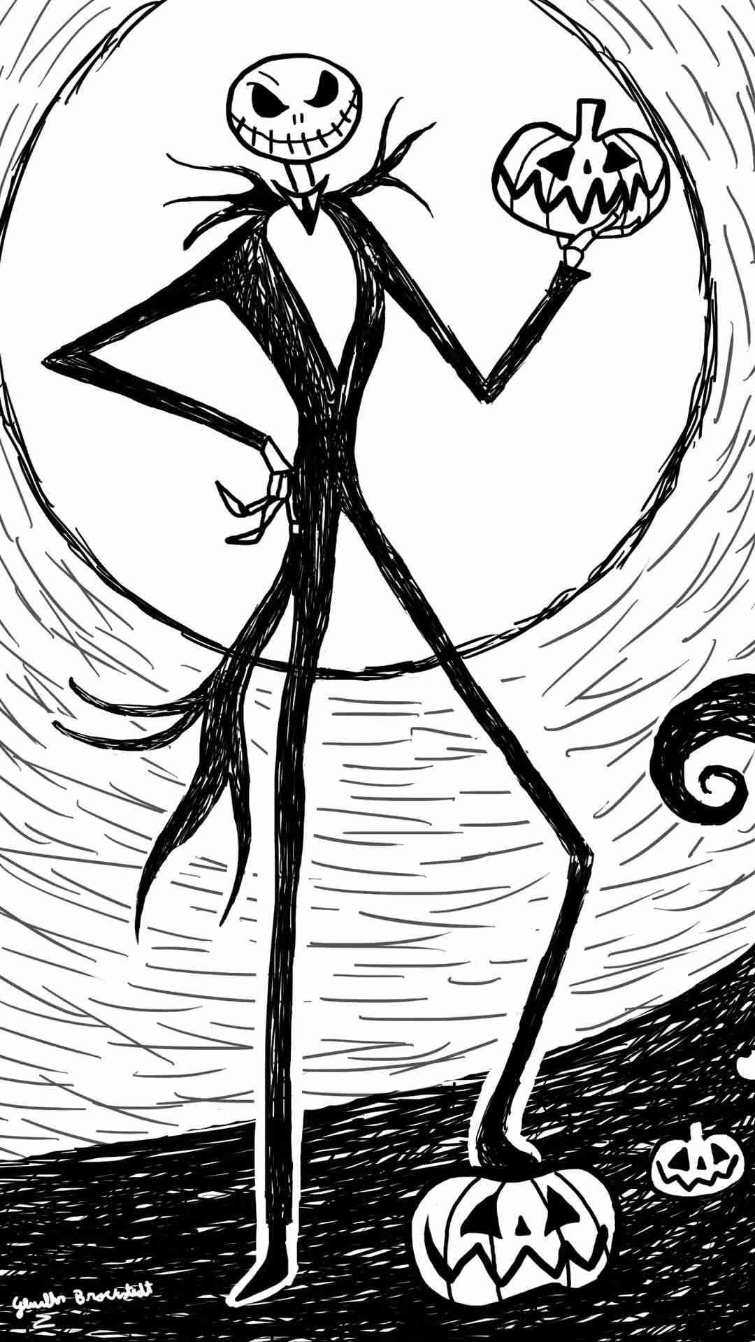 High Quality Nightmare Before Christmas Iphone Wallpaper Best