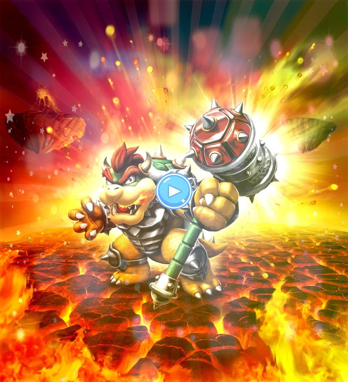 Donkey Kong und Bowser erobern Skylanders SuperChargersToytolife Donkey Kong und Bowser erobern Skylanders SuperChargers Dark Hammer Slam Bowser  Visit us at for more inf...