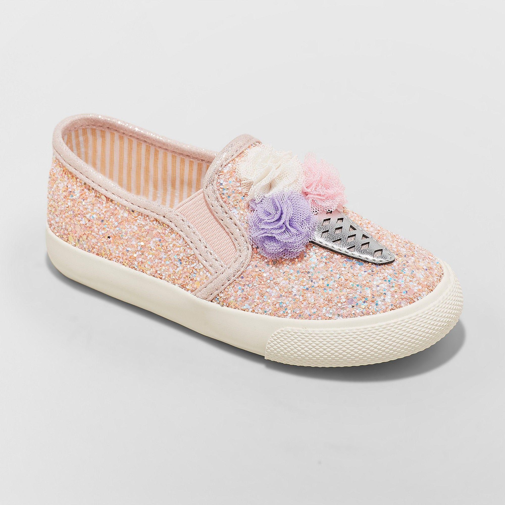 Cat \u0026 Jack Pink 10   Ice cream sneakers