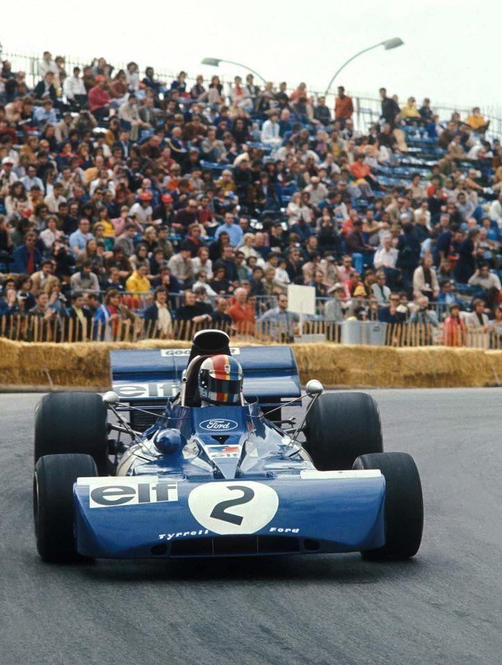 Francois Cevert Sur Tyrell Ford Formula Racing Racing Monaco