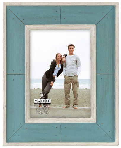 Malden Sun Washed Woods Turquoise Distressed Picture Frame 5 By 7 Inch Malden Http Www Amazon Com Dp B00hr10 Distressed Picture Frames Picture Frames Malden