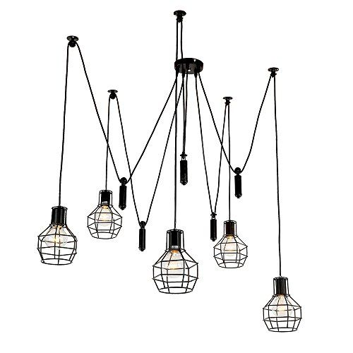 LNC Artistic Chandeliers 5 Lights Design Home Ceiling