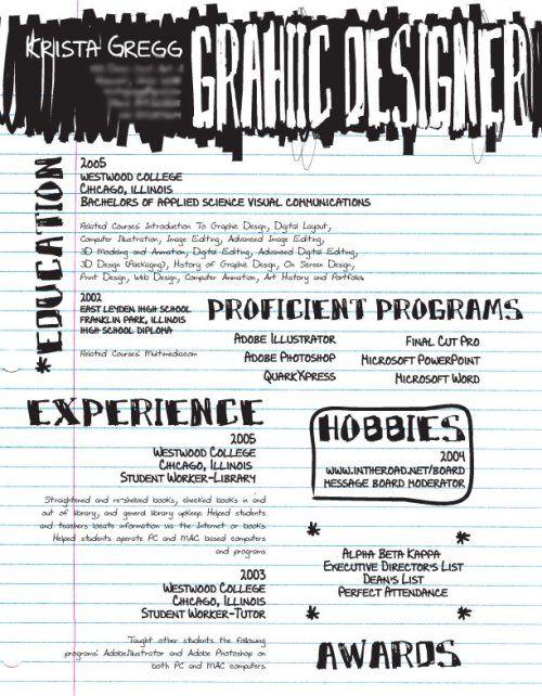Creative Resume Designs Top 56 Des Cv Design Originaux Et Insolites  Cv  Pinterest  Cv