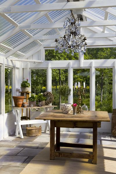 greenhouse. good idea for my