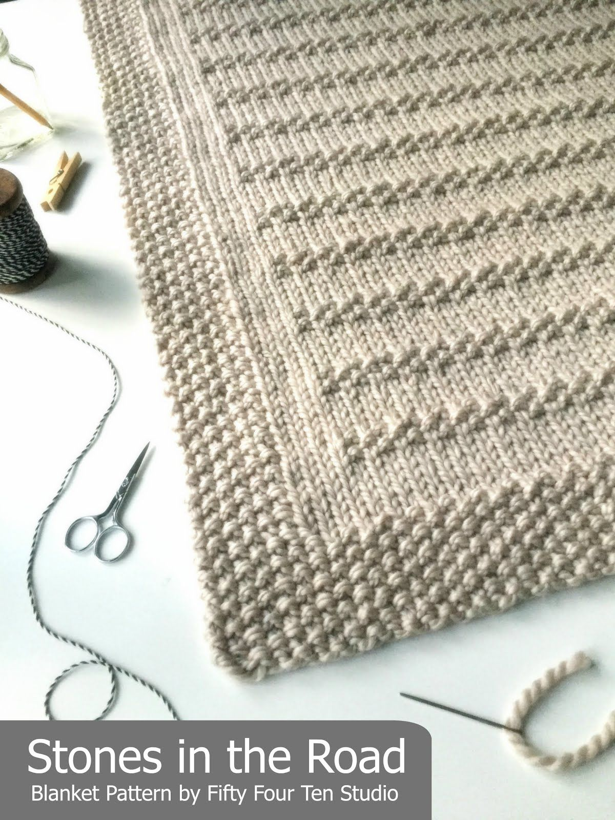Stones in the Road Blanket | Afghan Crochet | Pinterest | Babydecken ...