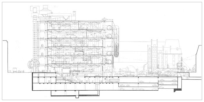 drawings - centre georges pompidou