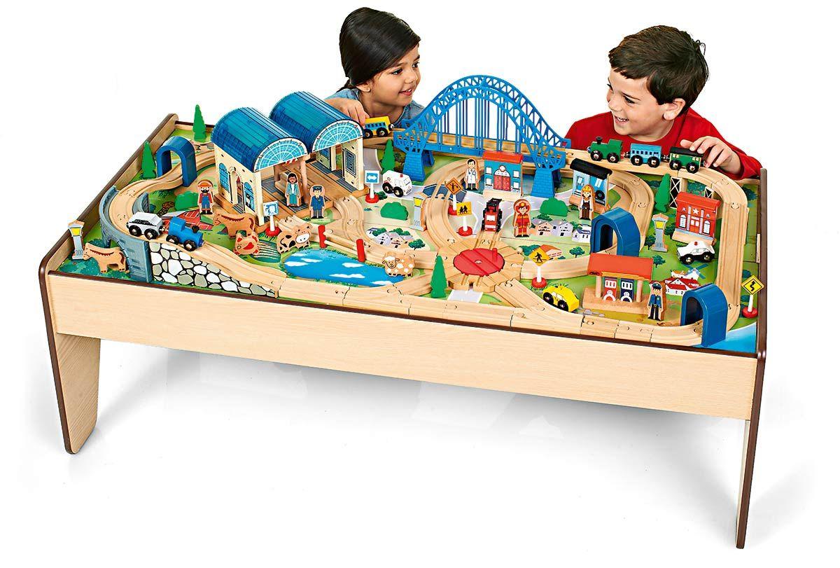 Holzeisenbahn Im Sortiment Von Toys R Us Spieltisch Tisch Toys
