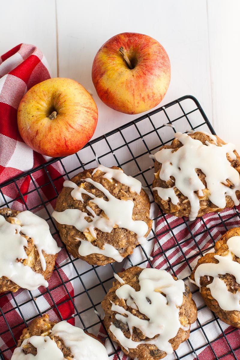 Apple Cinnamon Oatmeal Cookies Recipe Oatmeal cookies