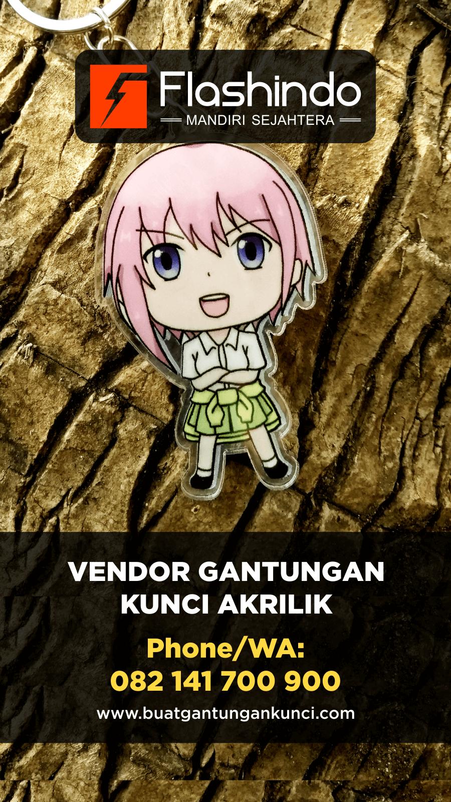 Gantungan kunci anime keren Cocok untuk acara ulang tahun