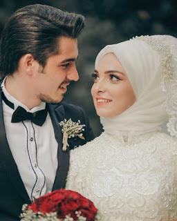 صور عرايس محجبات تحفة اشيك واروق عروسة بالفستان 2020 Muslim Wedding Dresses Muslim Couples Islamic Wedding