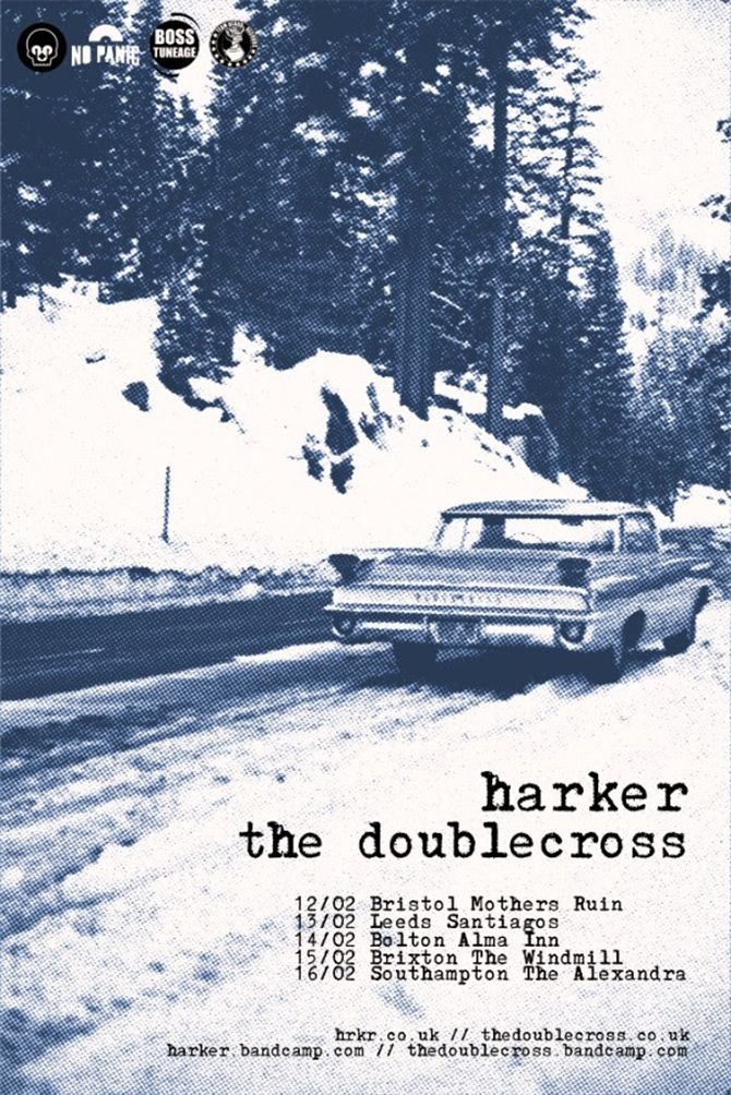Harker Announce Tour Dates with The Doublecross New