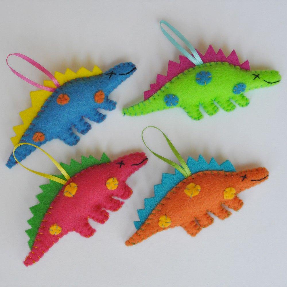 Dinosaur christmas ornaments - Eco Friendly Dinosaur Christmas Ornament