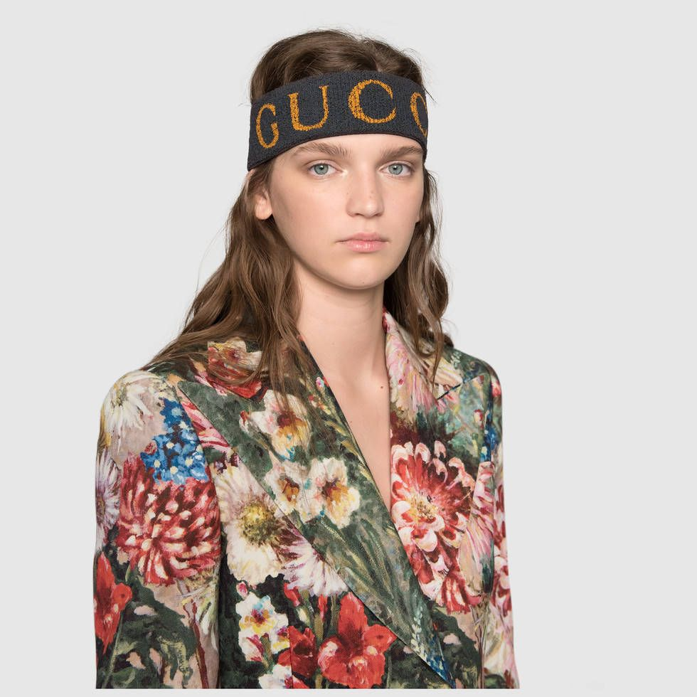 cc05d99690 Gucci Elastic Gucci headband Detail 4 | Things to Wear | Gucci ...