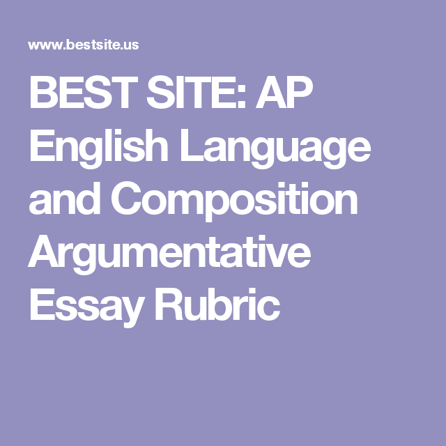 ap english language and composition argument essay