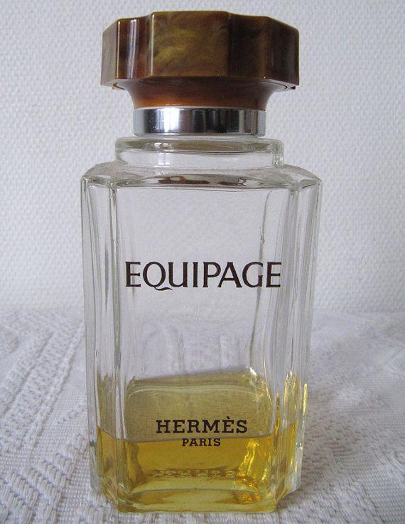Vtg Bouteille Parfum Hermès Equipage Par Montmartrevintage Sur Etsy