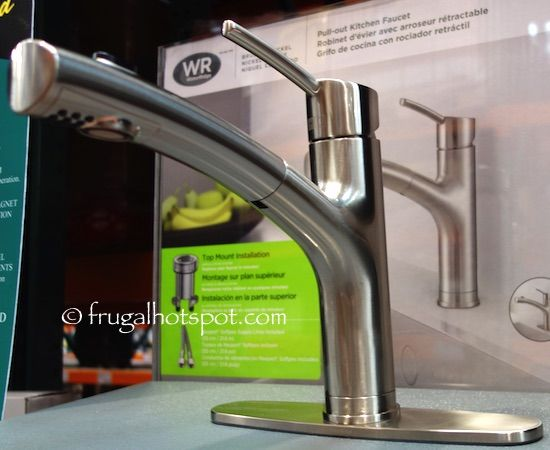 water ridge style pull out kitchen faucet costco
