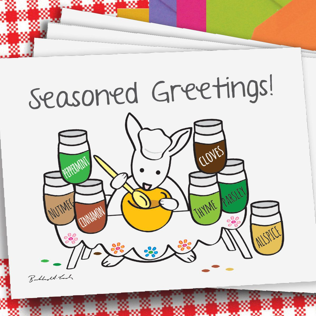 Seasoned greetings 8 card pack free shipping handmade 8 card pack free shipping handmade beckhardt lada design holiday cardsveganchristmas kristyandbryce Image collections