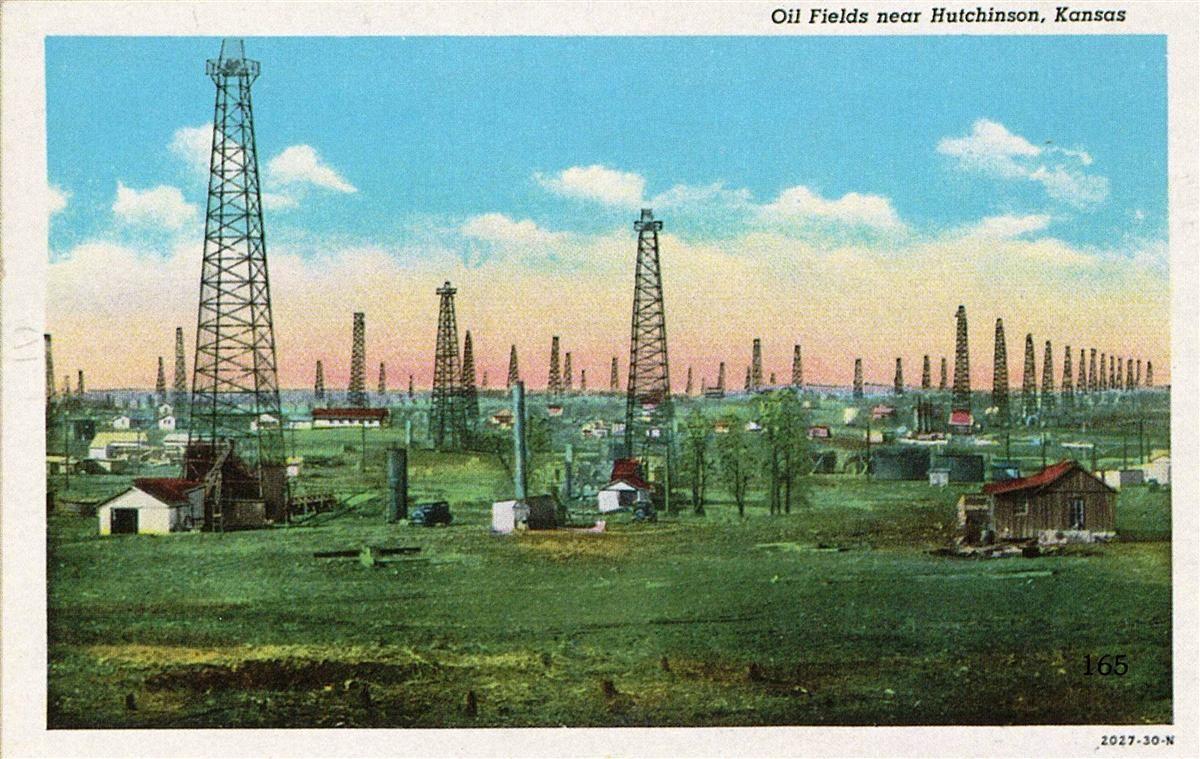 Oil field Hutchinson, Kansas Hutchinson kansas, Kansas