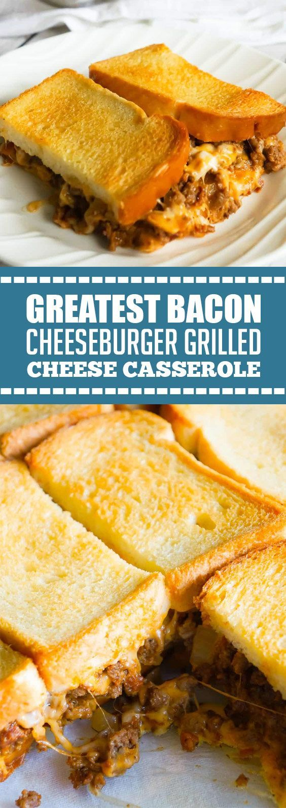 ★★★★★ 74 reviews: Greatest Bacon Cheeseburger Grilled Cheese Casserole | This Bacon Cheeseburger Grilled Cheese Casserole is an easy hamburger casserole recipe loaded with ground beef, onions and cheese all sandwiched between layers of toasted bread. #cheeseburger #bacon #casserole #easyrecipes | yourkeepinfo.blogspot.com #hamburgercasserolerecipe ★★★★★ 74 reviews: Greatest Bacon Cheeseburger Grilled Cheese Casserole | This Bacon Cheeseburger Grilled Cheese Casserole is an #hamburgercassarole