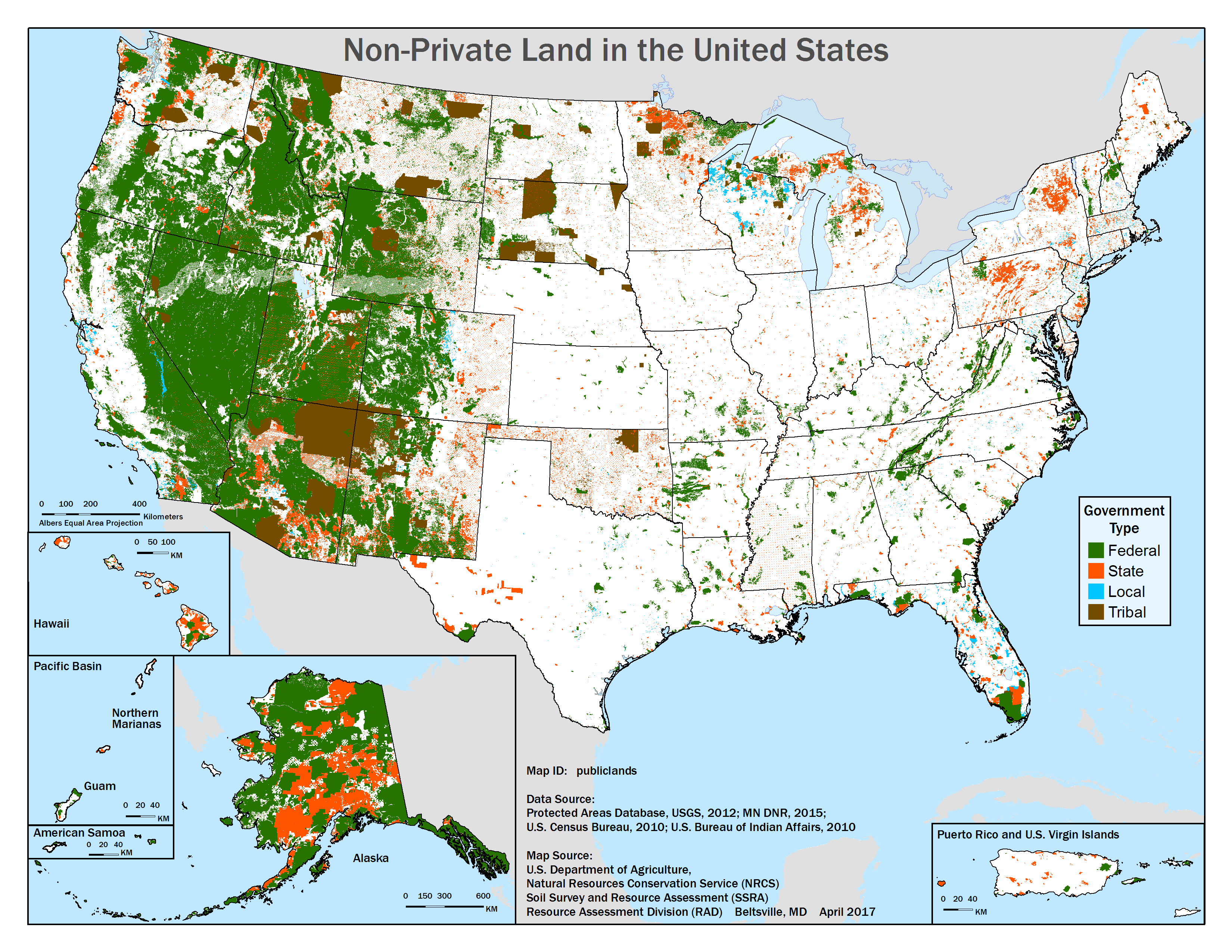 NonPrivate Land In The United States United States Pinterest - Contiguous us hillshade map