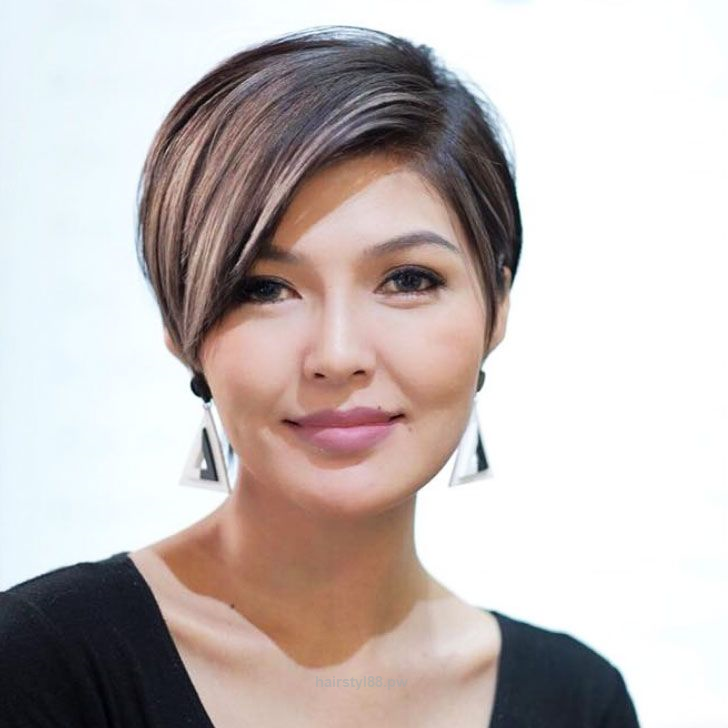 Magnificent 25 Flattering Short Hairstyles For Round Face The Post