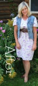 Easiest Dress Refashion on the Planet