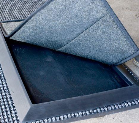 Shoe Sanitizer Mat Setup Maintenance