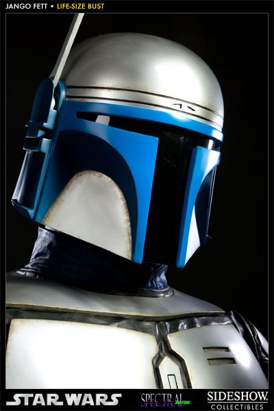 Alter Ego #Comics proudly presents the newest entry in Sideshow Collectibles' Star Wars Life-Size bust collection, Jango #Fett. In partnership with Spectral Motion effects studio, the famed bounty hunter has been sculpted with meticulous attention to detail. Captured in real life 1:1 scale, the Jango Fett Life Size Bust measures over two feet tall; each piece is individually painted and finished to create an outstanding, hand crafted addition to any Star Wars display.