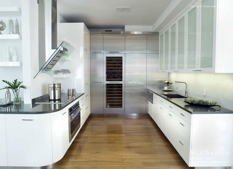 Home St Charles Of New York Luxury Kitchen Cabinets Luxury Kitchen Design White Kitchen Interior Design