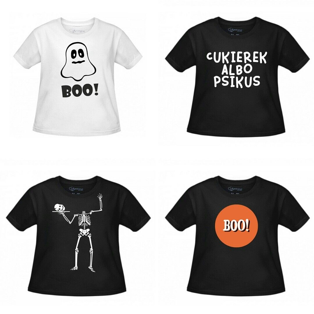 Koszulki Na Halloween Dla Calej Rodziny Koszulki Corki Synowie