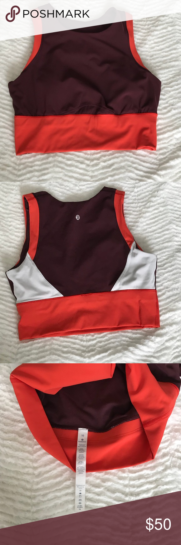 Lululemon Kick Serve Sweat Bra Athletic tank tops, Women