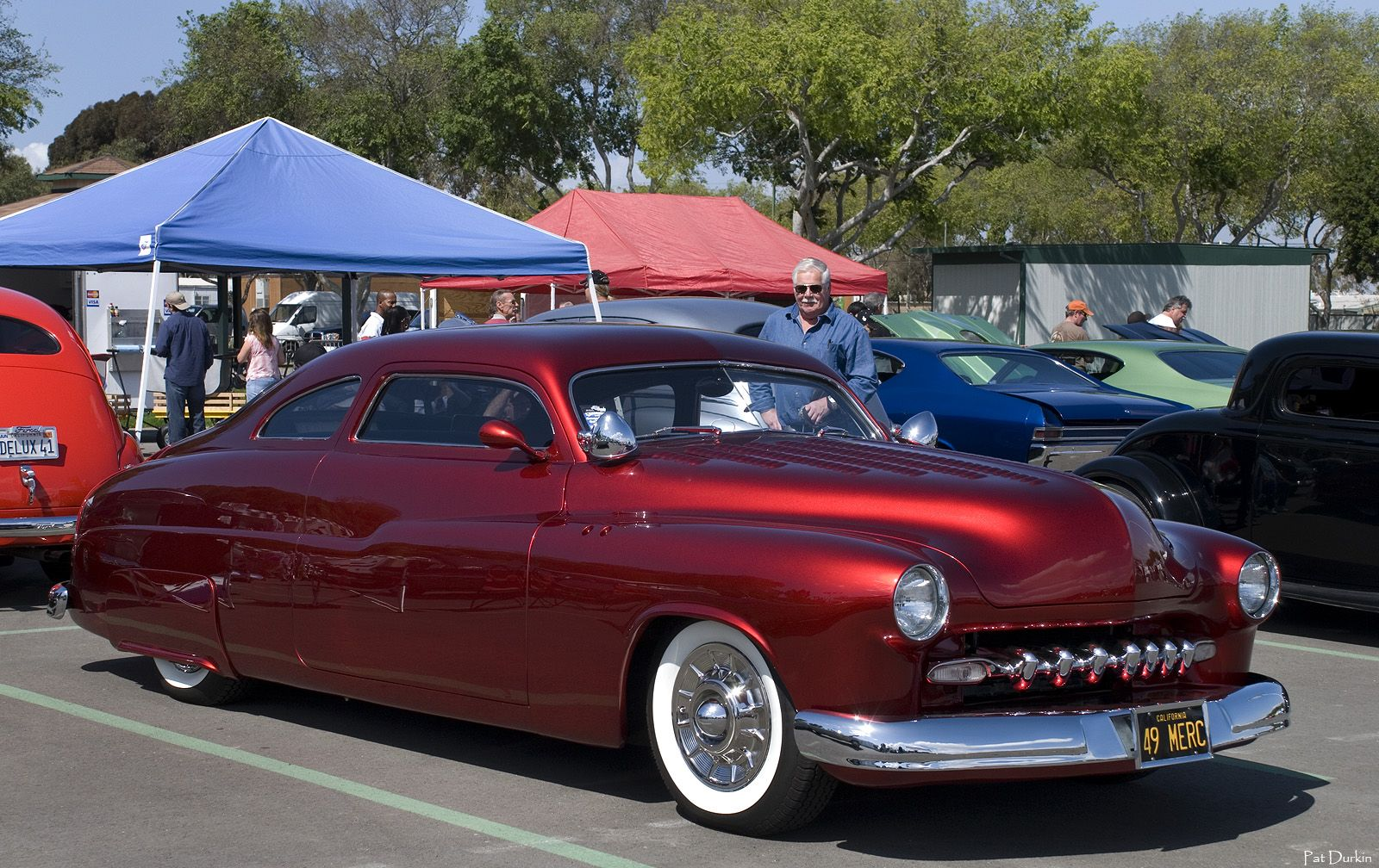 1949 mercury lead sled candy apple
