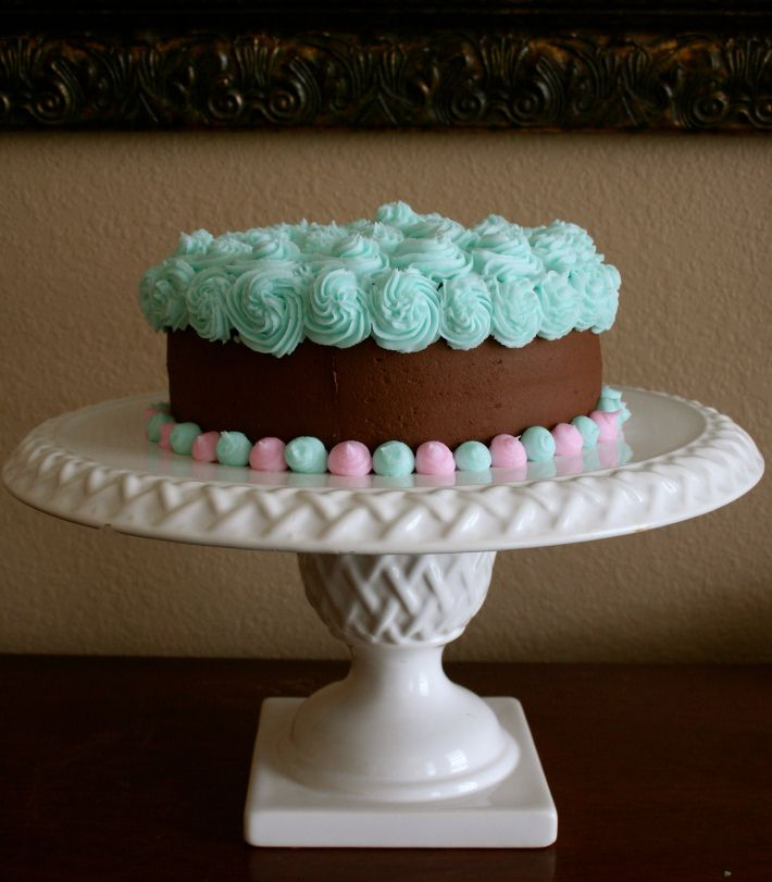 Easy to Decorate Birthday Cake 2 Crafty Moms Pinterest