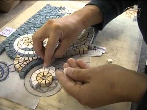 how to cut glass tile on mesh