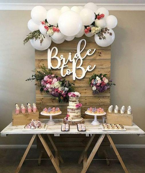 50+ Cutest Bridal Shower Idea With Spring Garden Theme