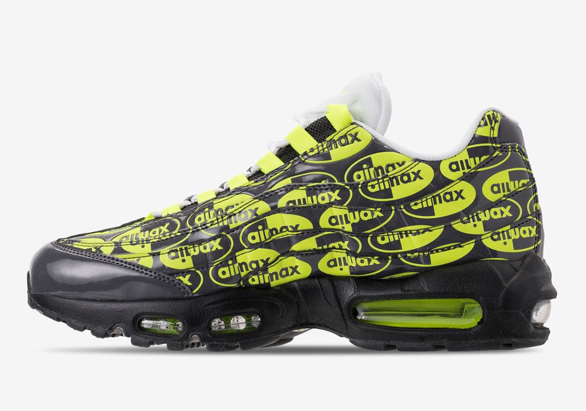 the latest 7414a 0f891 Nike Is Getting Crazy With Air Max Logos Again