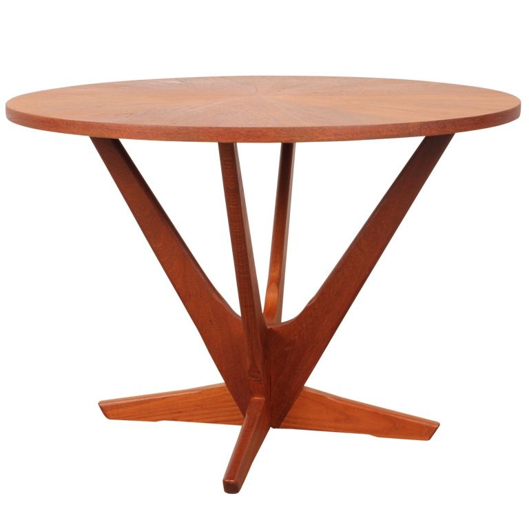 1stdibs danish mid century modern coffee table by soren
