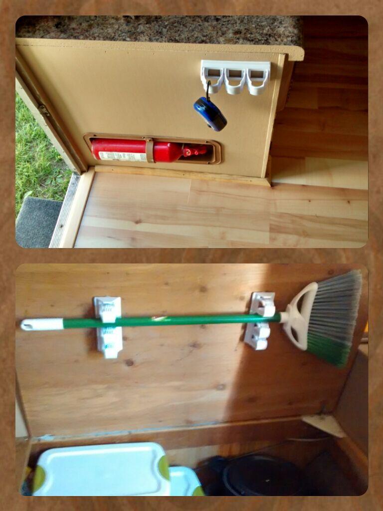 Storage extras for your camper | Our Camper Remodel